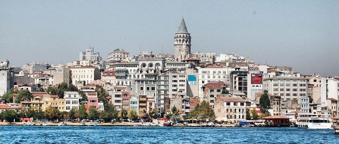 İstanbul Beyoğlu'nda  Yaşam